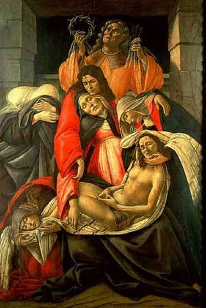 lamentation over the dead christ 1495 XX museo poldi pezzoli milan